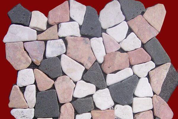 Mosaic Marble - Pebble Flooring