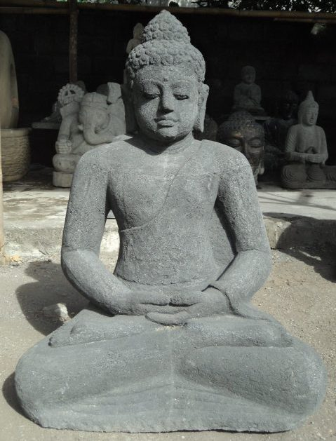 Sitting Buddha Statue Concrete
